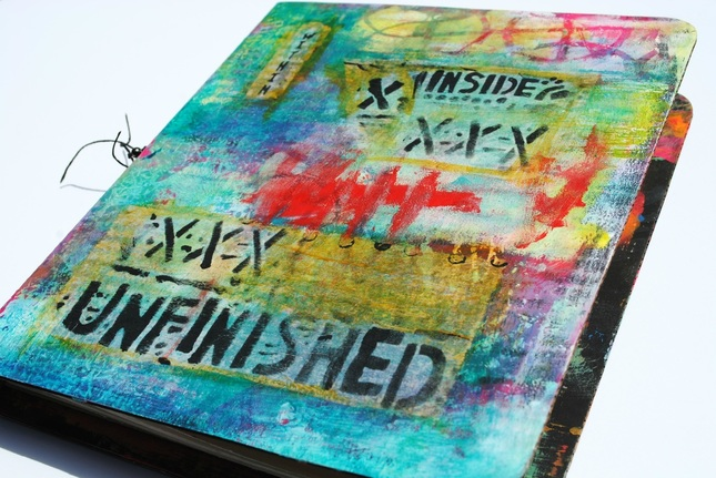 Art Journaling Workshop with Seth Apter and Mary Beth Shaw