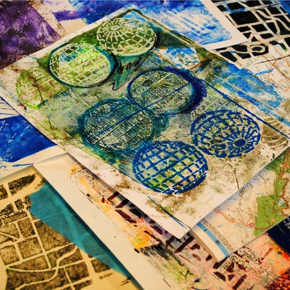 Gelli Plate Party