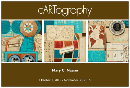 cARTography by Mary C. Nasser