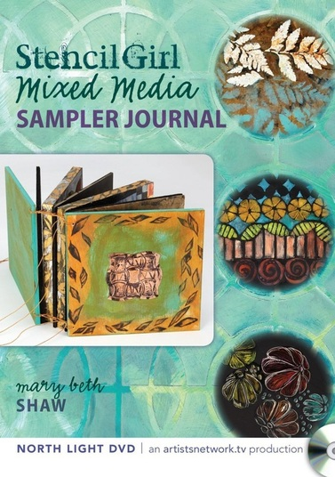 StencilGirl Mixed Media Sampler Journal