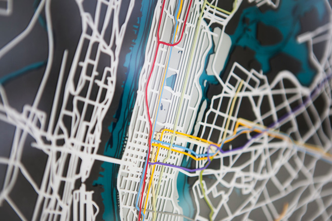 Manhattan New York Subway Map