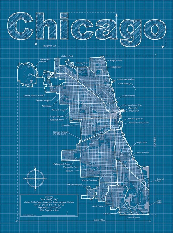 Friday favorite christopher estes mary c nasser first up are his city blueprints inspired by the style of traditional blueprints each map is created with accurate data and highlights each citys street malvernweather Gallery