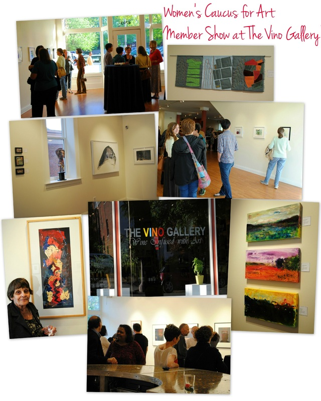 St. Louis Chapter of the Women's Caucus for Art at The Vino Gallery