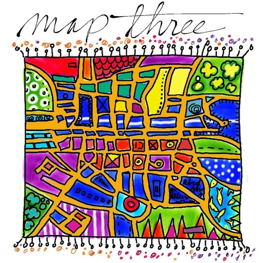 Kelli Nina Perkins Doodle CIty Map