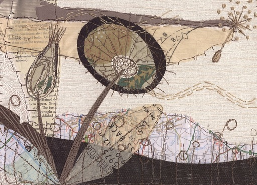 Textile Art by Anne Brooke