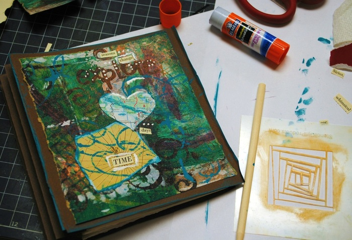 Bookarts/Art Journaling Workshop