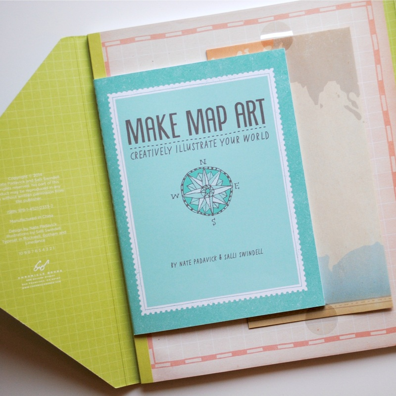 Make map art mary c nasser project ideas range from maps celebrating your personal passions to mapping the passage of time to a map of your favorite city to a road map to happiness gumiabroncs Images
