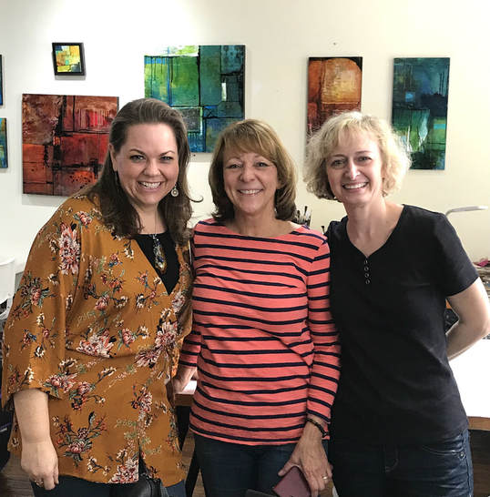 Gwen Lafleur, Mary Beth Shaw, and Mary Nasser