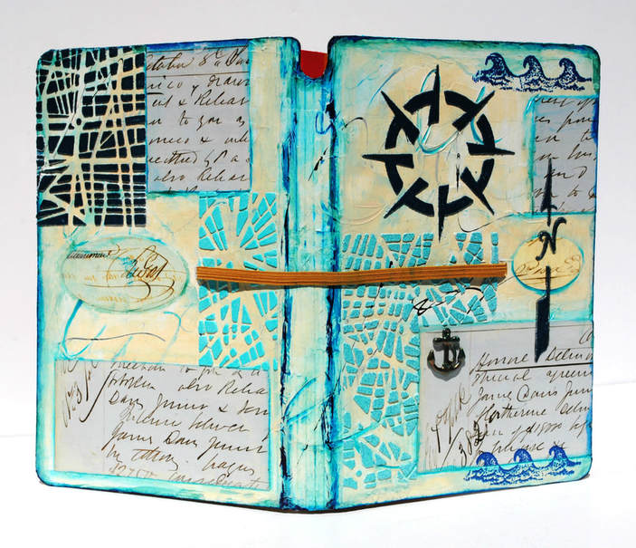 Mary C. Nasser, Art Journal Cover