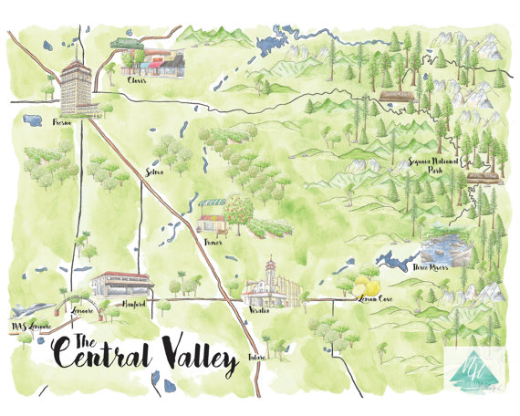 The Central Valley, California