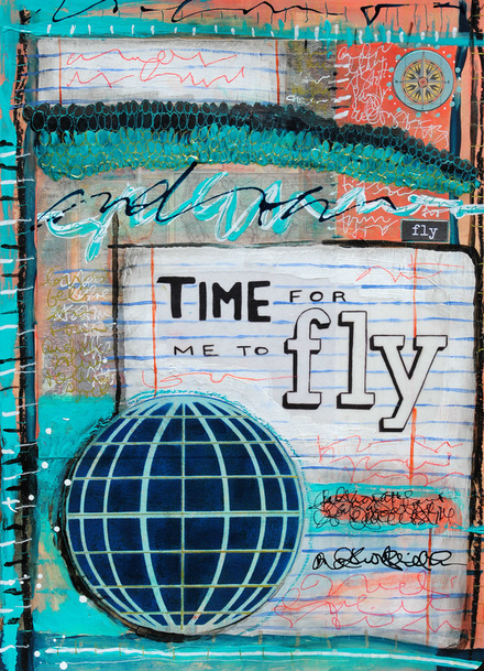 Mary C. Nasser, Mixed Media Art Journal