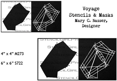 Voyage Stencils & Masks designed by Mary C. Nasser